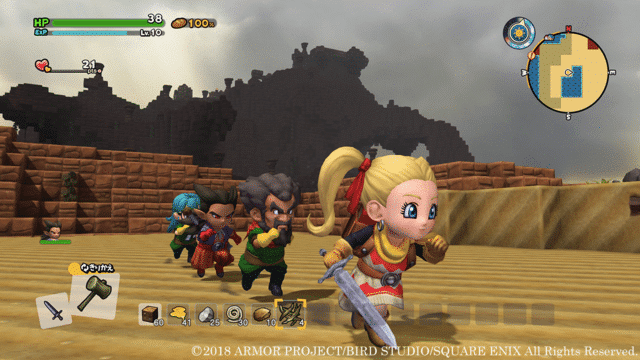 Dragon Quest Builders 2 Rooms