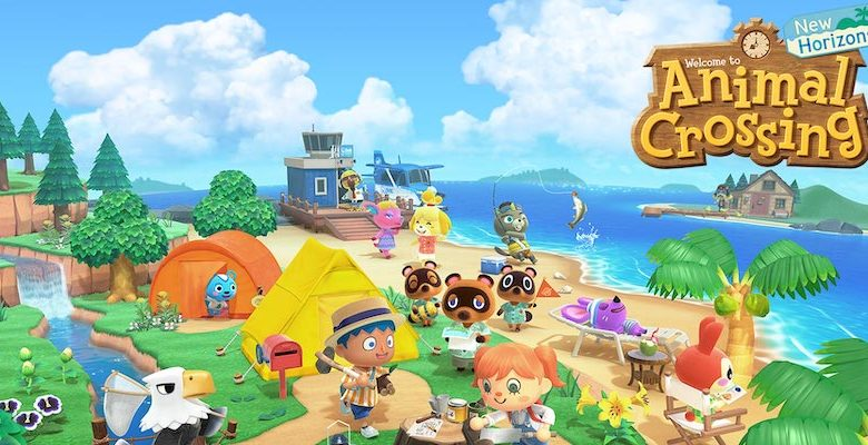 Animal Crossing New Horizons Title Art