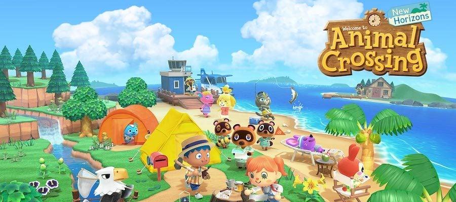 Animal Crossing New Horizons Title Art